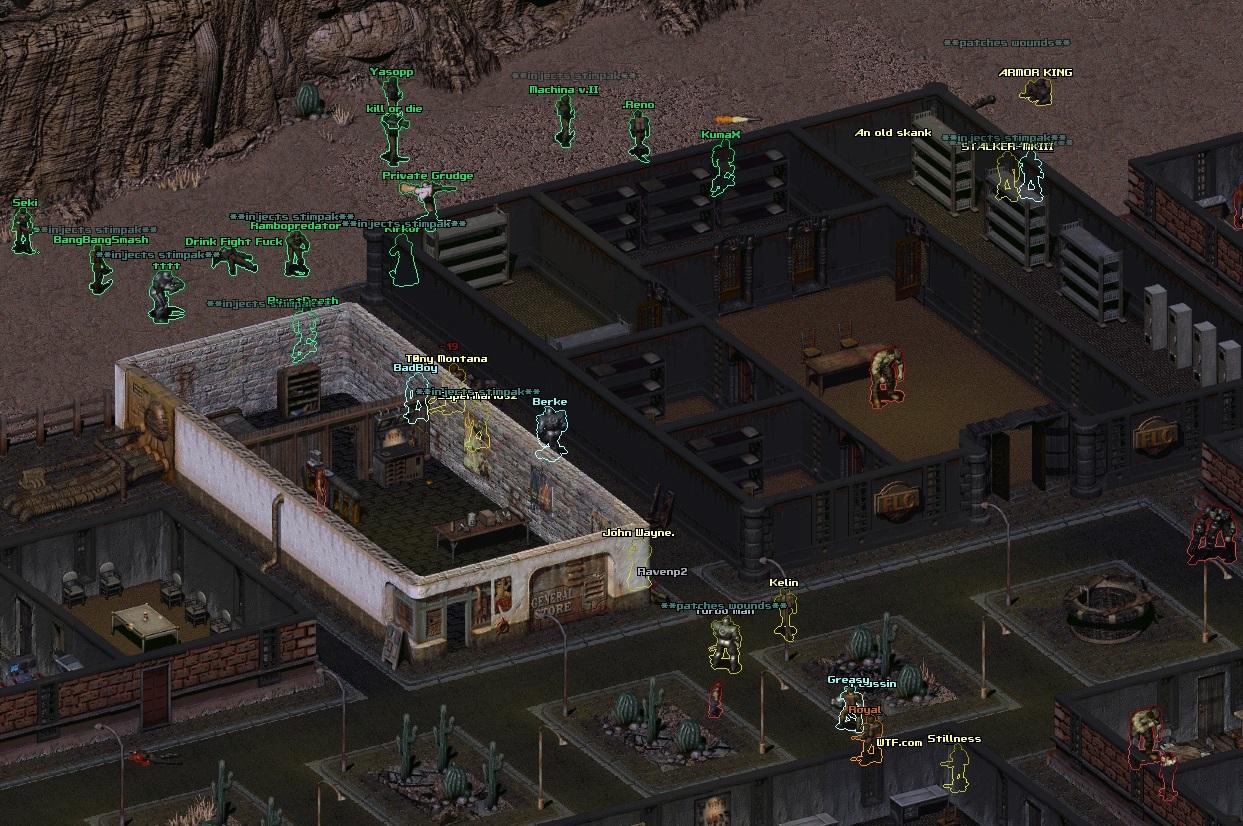 Статусы серверов FOnline (Fallout Online)